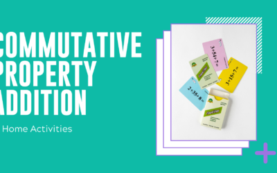 Commutative Property Addition Home Activities