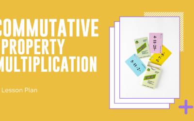 Commutative Property Multiplication Lesson plan