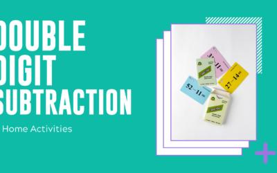 Double-Digit Subtraction Home Activities
