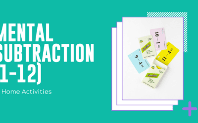 Mental Subtraction (1-12) Home Activities